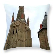 Bruges 20 Throw Pillow