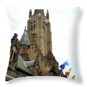 Bruges 21 Throw Pillow