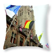 Bruges 22 Throw Pillow