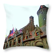 Bruges 24 Throw Pillow