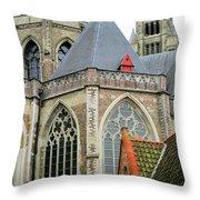 Bruges 26 Throw Pillow