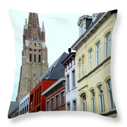 Bruges 3 Throw Pillow