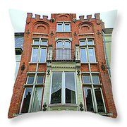 Bruges 31 Throw Pillow
