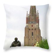 Bruges 33 Throw Pillow