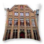 Bruges 34 Throw Pillow
