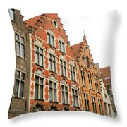Bruges 38 Throw Pillow