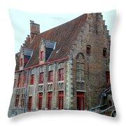 Bruges 5 Throw Pillow