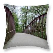 Bruges Bridge 1 Throw Pillow