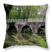 Bruges Bridge 2 Throw Pillow