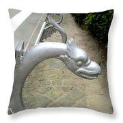 Bruges Detail 10 Throw Pillow