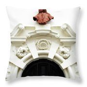 Bruges Detail 12 Throw Pillow