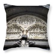 Bruges Detail 5 Throw Pillow