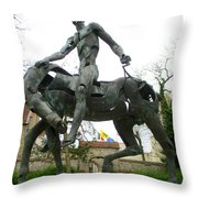 Bruges Detail 6 Throw Pillow