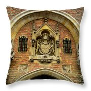 Bruges Detail 9 Throw Pillow