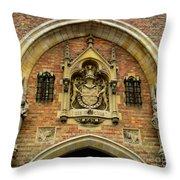 Bruges Detail 9 Throw Pillow