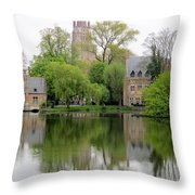 Bruges Minnewater 3 Throw Pillow