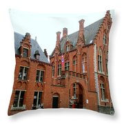 Bruges Sashuis 5 Throw Pillow