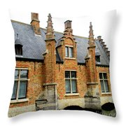 Bruges Sashuis 6 Throw Pillow