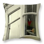 Bruges Window 10 Throw Pillow