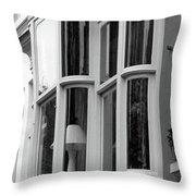 Bruges Window 14 Throw Pillow