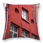 Bruges Window 7 Throw Pillow