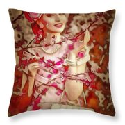 Brunch In Ambiance Throw Pillow