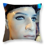 Bruno's Bowl Cut Throw Pillow