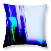 Brush Of Color And Light Throw Pillow