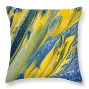 Brush Stroke Detail 8066 Throw Pillow