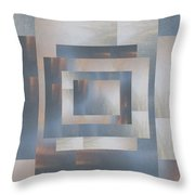Brushed 23 Throw Pillow by Tim Allen