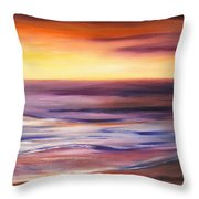Brushed 9 Throw Pillow