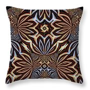 Brushed Marbles Throw Pillow