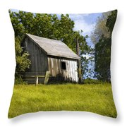Brushy Peak  Cabin Throw Pillow