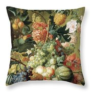 Brussel Fruits 1789 Throw Pillow