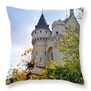 Brussels Fortress Throw Pillow