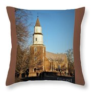 Bruton Parish Episcopal Church Throw Pillow