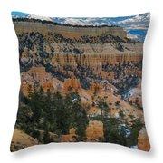 Bryce Canyon Series #2 Throw Pillow