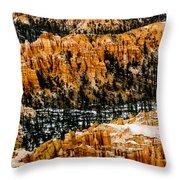 Bryce Canyon Series #3 Throw Pillow