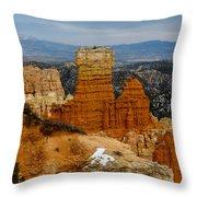 Bryce Canyon Series #5 Throw Pillow
