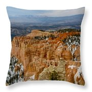 Bryce Canyon Series #7 Throw Pillow