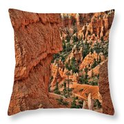 Bryce Canyon 21 - Sunrise Point Throw Pillow