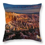 Bryce Canyon Early Morning Throw Pillow