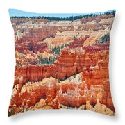 Bryce Canyon Fairyland Point Throw Pillow
