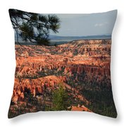 Bryce Canyon II Throw Pillow