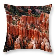 Bryce Canyon In Utah Throw Pillow