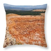 Bryce Canyon Inspiration Point Throw Pillow
