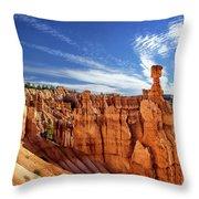 Bryce Canyon Landscape Throw Pillow