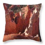 Bryce Canyon Look Throw Pillow