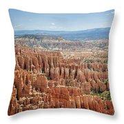 Bryce Canyon National Park 1 Throw Pillow