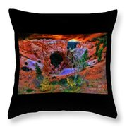 Bryce Canyon Natural Bridge Throw Pillow